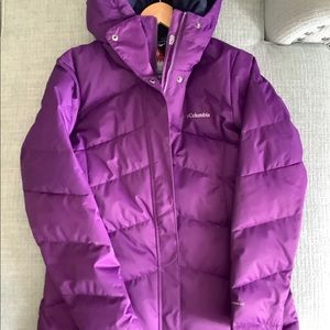 Pre-owned Women's Columbia Puffer Coat, size large